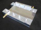 冷却試験冶具 小ロットアルミ加工品