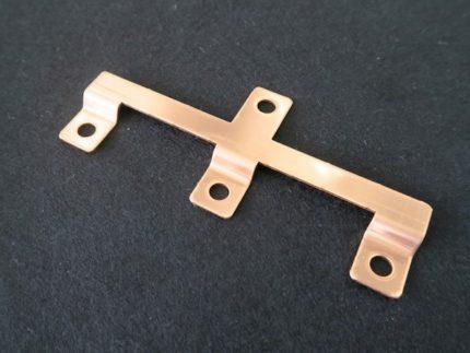 銅プレス加工品 短絡治具